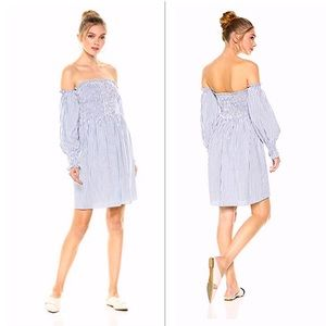 Ella Moon Women's Reeva off shoulder Smocked Dress